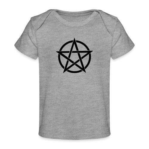 Pentagramme Wicca - T-shirt bio Bébé