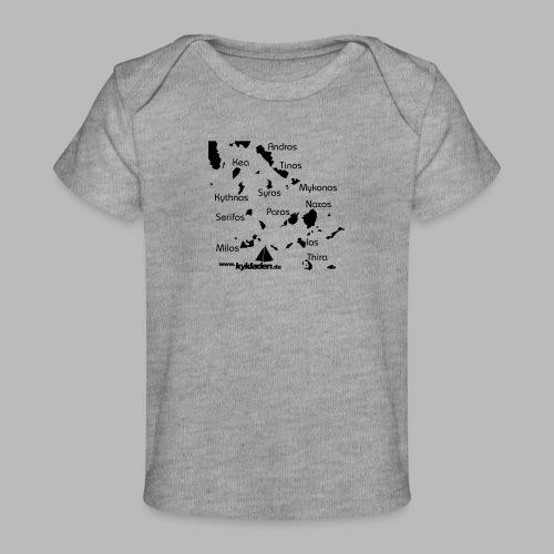 Kykladen Griechenland Crewshirt - Baby Bio-T-Shirt