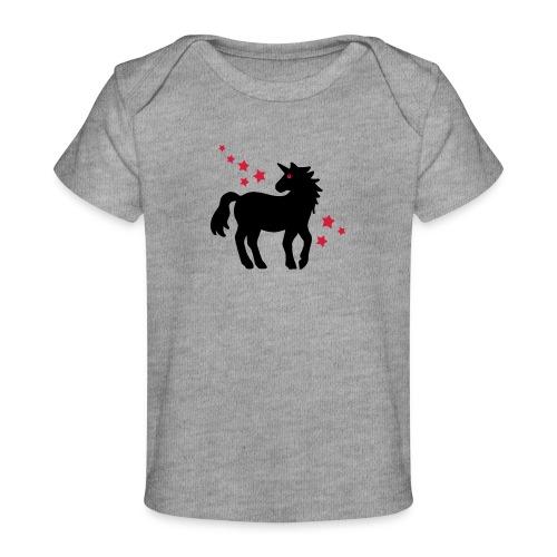 Einhorn - Baby Bio-T-Shirt