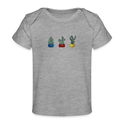 Primary cactus - Økologisk T-shirt til baby