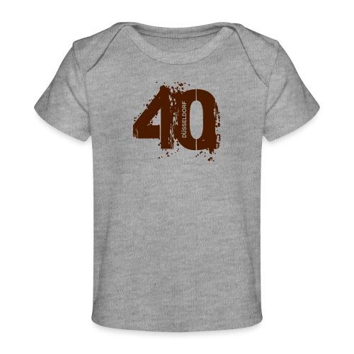 City_40_Düsseldorf - Baby Bio-T-Shirt