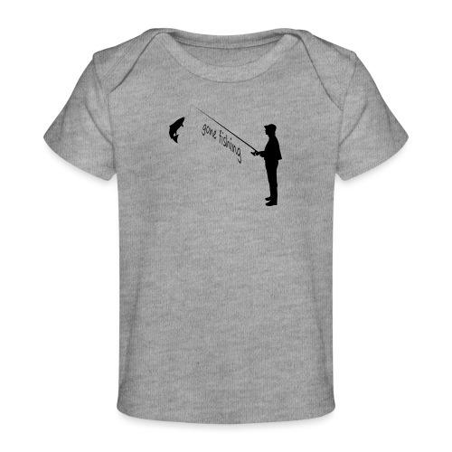 Angler gone-fishing - Baby Bio-T-Shirt