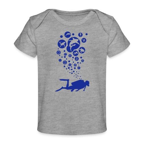 The Scuba Diver - Le plongeur - T-shirt bio Bébé