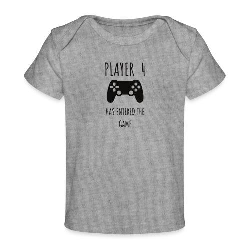 Player 4 - Organic Baby T-Shirt