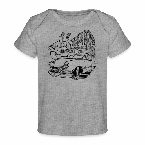 Cuba Havana Dodge Textiles and Gifts for You - Vauvojen luomu-t-paita