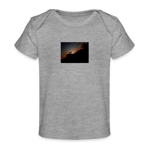 Cielo eclipsado - Camiseta orgánica para bebé