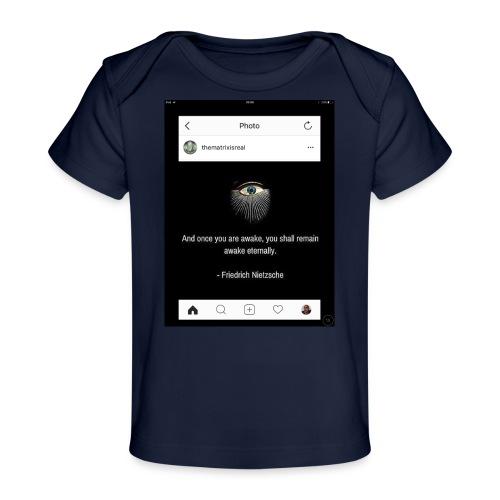 81F94047 B66E 4D6C 81E0 34B662128780 - Organic Baby T-Shirt