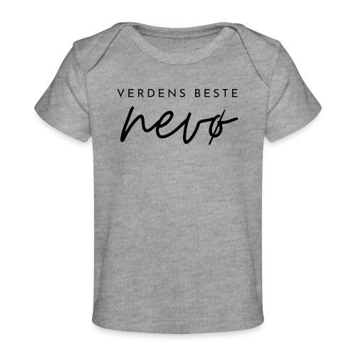 Verdens beste nevø - Økologisk baby-T-skjorte