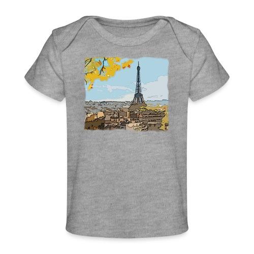 Tour Eiffel de Paris - T-shirt bio Bébé