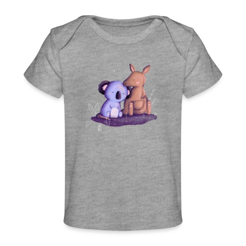 Koala und Känguru - Baby Bio-T-Shirt