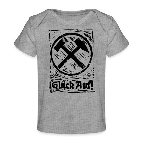GlueckAuf - Baby Bio-T-Shirt