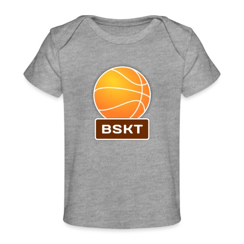 Basket - Camiseta orgánica para bebé