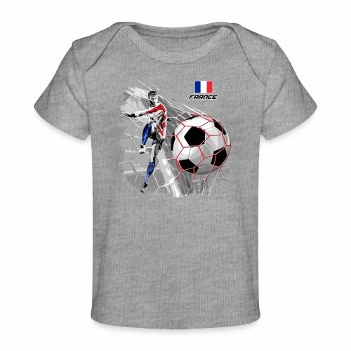 FP22F 03 FRANCE FOOTBALL - Vauvojen luomu-t-paita