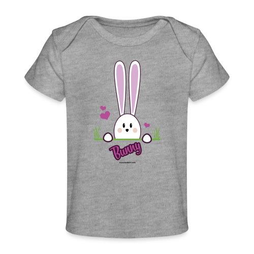 süßes Häschen - Baby Bio-T-Shirt
