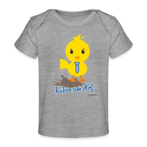 Küken am Hof, Design für Jungen - Baby Bio-T-Shirt