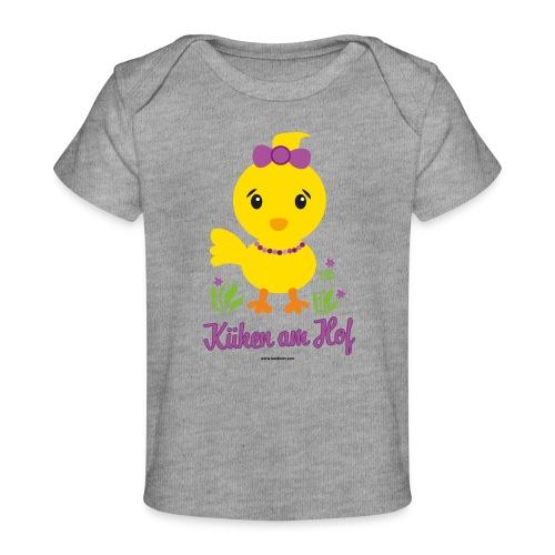 Ostern für kleine Mädchen - Baby Bio-T-Shirt