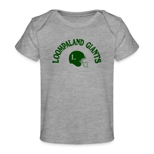Willy Wonka heeft een team - Baby bio-T-shirt