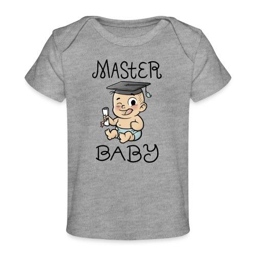 Master Baby - Baby Bio-T-Shirt