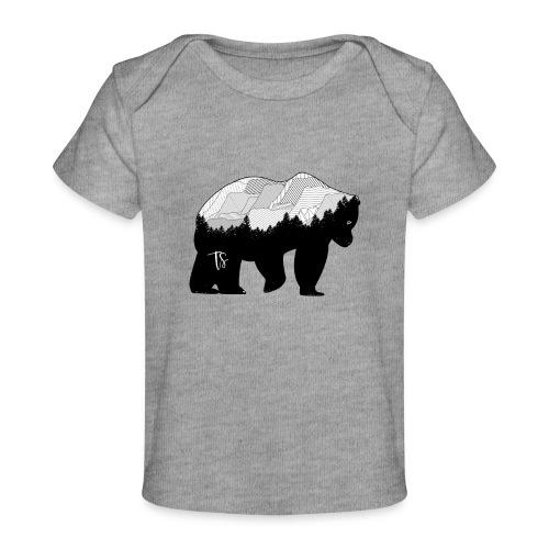 Geometric Mountain Bear - Maglietta ecologica per neonato