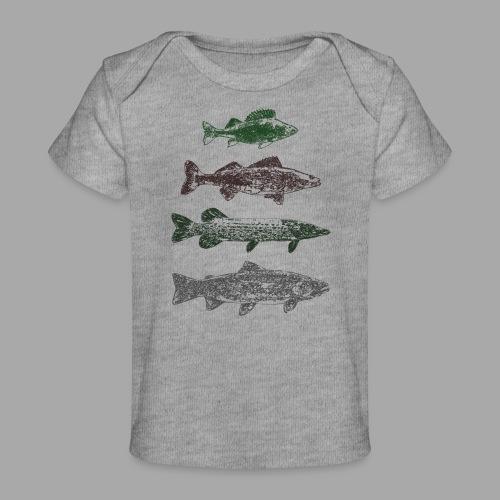 Lake - Vauvojen luomu-t-paita