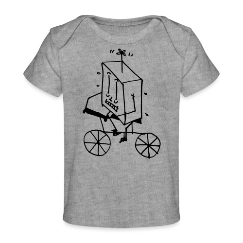 coso bici - Maglietta ecologica per neonato