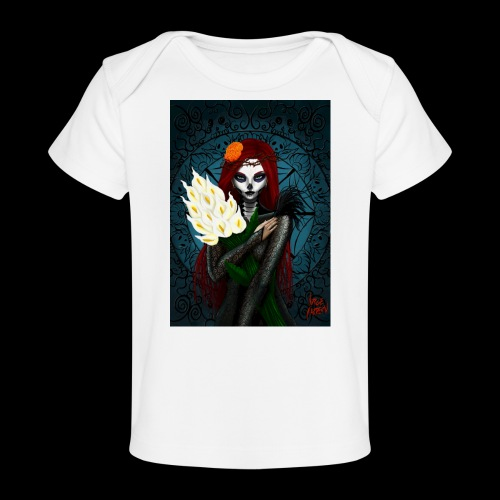 Death and lillies - Organic Baby T-Shirt
