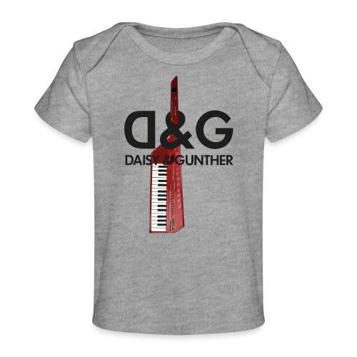 Met keytar-logo - Baby bio-T-shirt