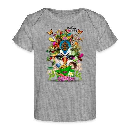 Parfum d'été by T-shirt chic et choc - T-shirt bio Bébé