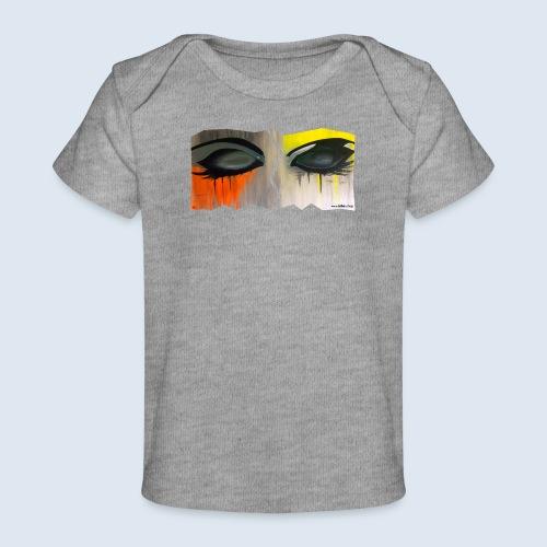Closed Eyes Berlin PopArt ickeshop BachBilder - Baby Bio-T-Shirt