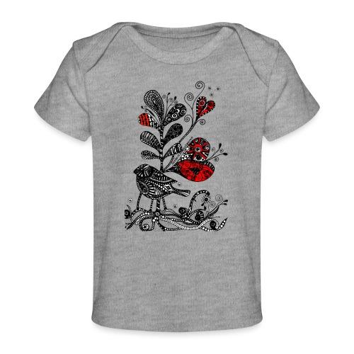 SVogerl mit Herz - Baby Bio-T-Shirt
