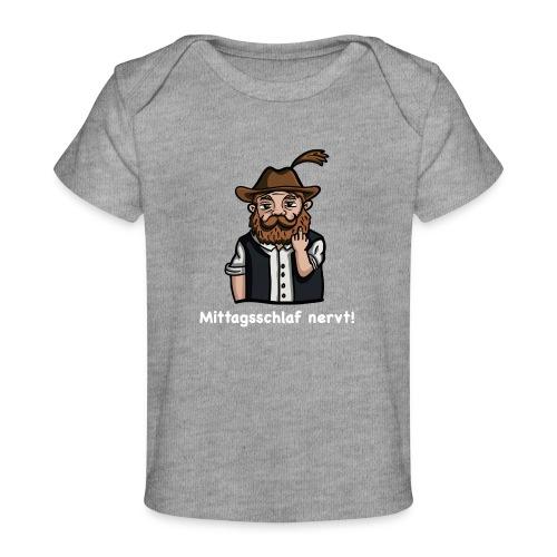 Mittagsschlaf nervt - Baby Bio-T-Shirt