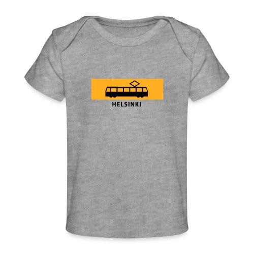 RATIKKA PYSÄKKI HELSINKI T-paidat ja lahjatuotteet - Vauvojen luomu-t-paita