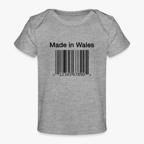 Made in Wales - Organic Baby T-Shirt