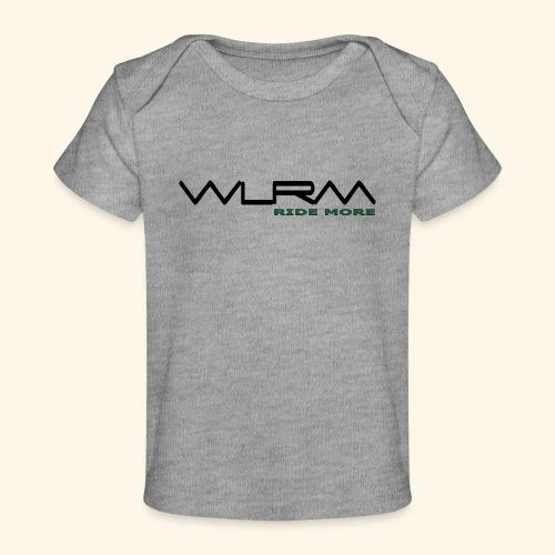 WLRM Schriftzug black png - Baby Bio-T-Shirt