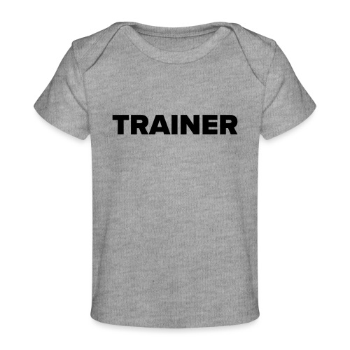 Workout Trainer Tshirt - Baby Bio-T-Shirt