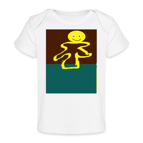 Glad mand - Økologisk T-shirt til baby