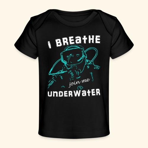 ScubaIBreathe002 - Baby bio-T-shirt