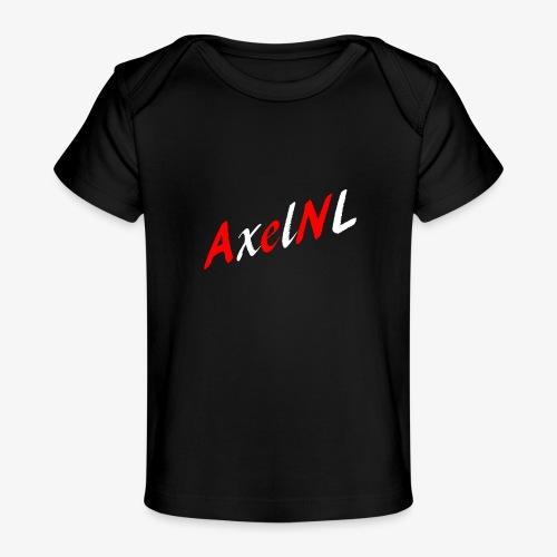 AxelNL - ROOD - Baby bio-T-shirt