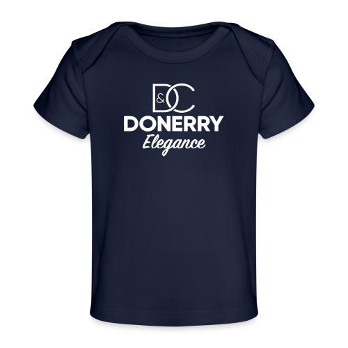 Donerry Elegance NEW White on Dark - Organic Baby T-Shirt