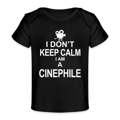 cinephile - cynamonowiec - Ekologiczna koszulka dla niemowląt