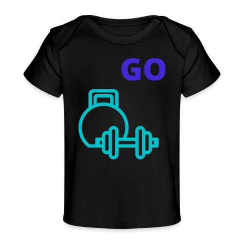 fitness - Økologisk T-shirt til baby