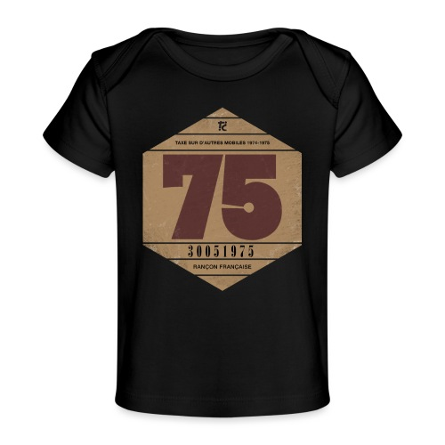 Vignette automobile 1975 - T-shirt bio Bébé