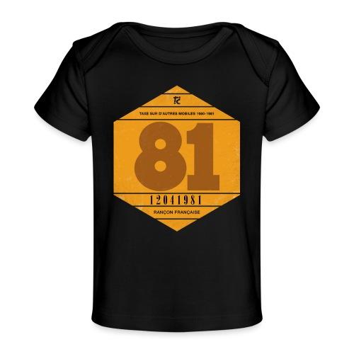 Vignette automobile 1981 - T-shirt bio Bébé