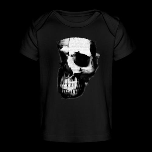 teschio darktrasp - Maglietta ecologica per neonato