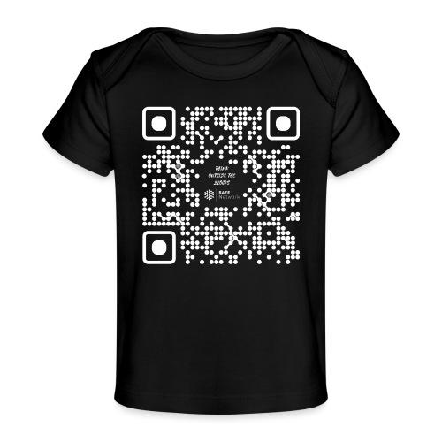 QR The New Internet Should not Be Blockchain Based W - Organic Baby T-Shirt