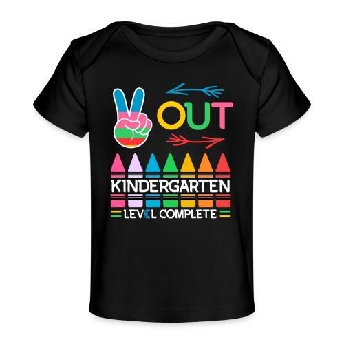Peace Out Förskolan Färdig Med Denna Nivå Klar - Ekologisk T-shirt baby