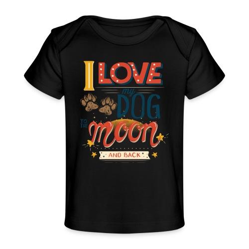 Moon Dog Light - Ekologisk T-shirt baby