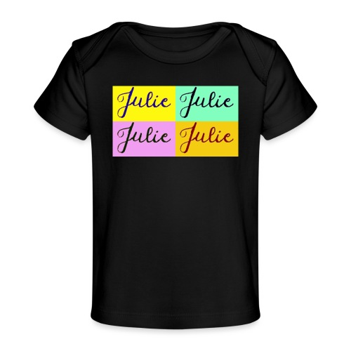 Julie Pop art - T-shirt bio Bébé