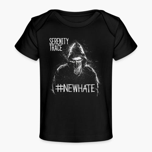 #NewHate Male - Økologisk baby-T-skjorte