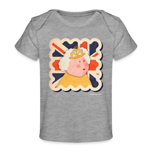 The Queen - Organic Baby T-Shirt